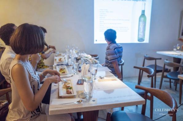 臺北台風衛星扶輪社小農香檳餐酒課程